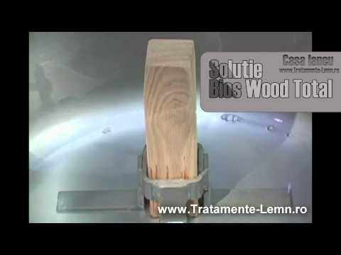 Tratament Lemn Casa Iancu - Bios Wood Total - solutie unica pentru tratarea lemnului