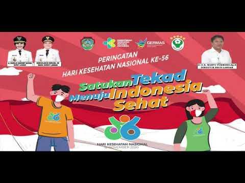 Memperingati Hari Kesehatan Nasional Gerakan Tepuk Tangan 56 Detik RSUD Landak