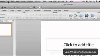 How To Change 16:9 Aspect Ratio In Powerpoint 2011 For Mac