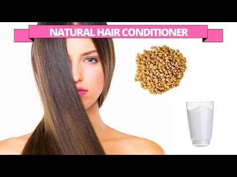 Natural hair conditioner with Fenugreek seeds & Milk