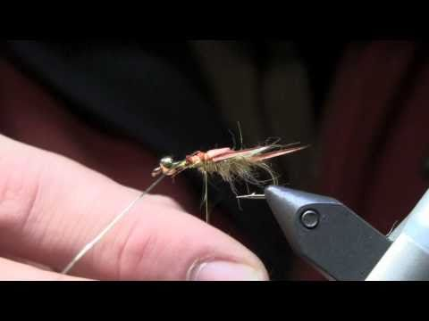 Fly Tying Lesson - Golden Stonefly Nymph Part 1