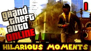 GTA Online: Hilarious Moments in Multiplayer (Part 1)