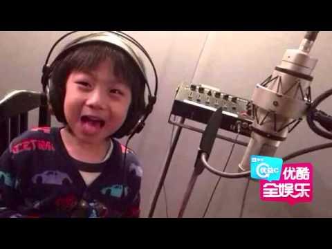 电影版《爸爸去哪儿》主题曲录制,五萌娃妈妈们集体为电影献声