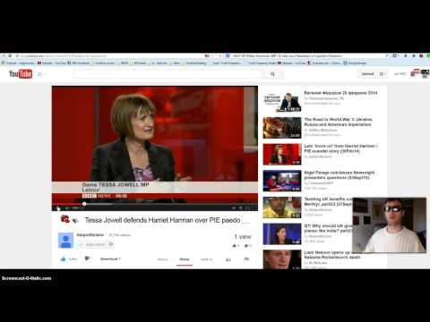 Tessa Jowell UK MP DESTROYED over her defence of friend Harriet Harman paedo supporter