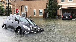 Попал в ураган Харви в Техасе. Россия наказала США. Дорожный Контроль Видео.