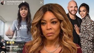 Michelle Williams Low Key Shades Wendy Williams 'My Man Is Faithful'