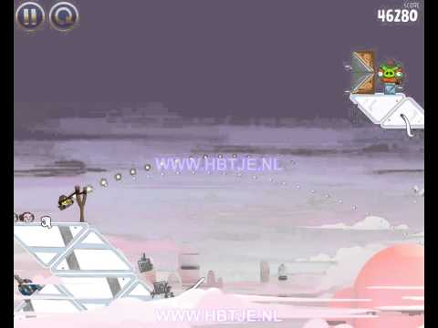 Angry Birds Star Wars Cloud City 4-4 3 stars