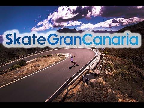 Skate Gran Canaria : Longboard trip