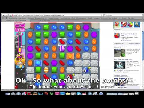 Candy Crush Saga - HOW TO DO level 96 - YouTube