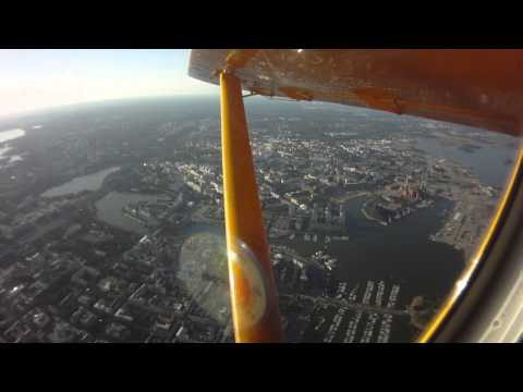 Skydiving clip4  in Finland- July 28, 2013