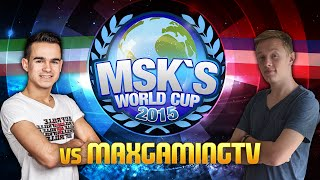 FIFA 15 : MSK WORLD CUP - 2. GRUPPENSPIEL VS. MaxGamingTV - Duration: 4:21.