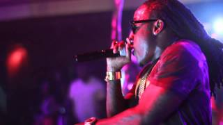 Ace Hood Performs w. DJ Khaled, Fabolous & French Montana At Webster Hall