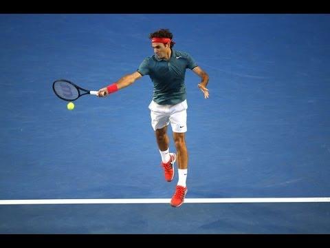 Roger Federer vs. Andy Murray Australian Open 2014 Quarterfinal