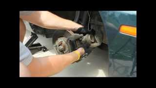 How To Change Replace Install Brake Pads 2004 Kia Optima
