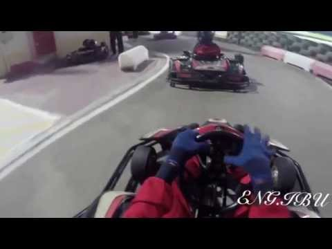 Carting in Al-Forsan Sport in Abu-Dhabi UAE with GoPro3+