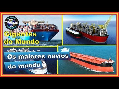 Os maiores navios do mundo