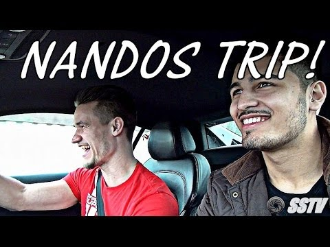 Audi R8 Supercar Trip to Nandos with Lord Aleem