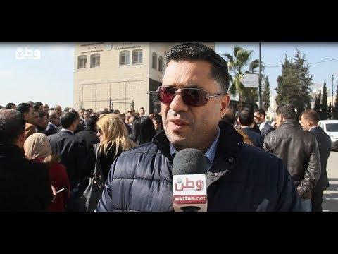 المحامون خلال اعتصامهم: مجلس الوزراء غير مسؤول ويقمع الحريات وهو المستفيد الوحيد من الانقسام