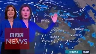 When BBC weather forecast goes wrong: Bloopers & funny incidents