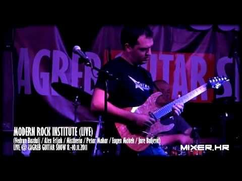 Modern Rock Institute &#8211; Live @ Zagreb Guitar Show