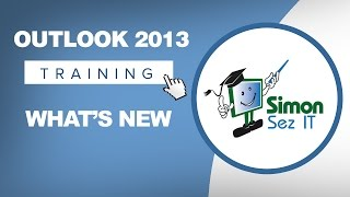 Microsoft Outlook 2013 Tutorial What's New In Outlook