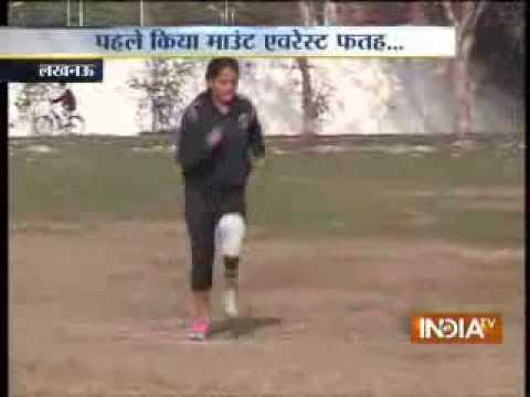 India's first woman amputee Mt Everest climber now for Olympic Gold Medal-1