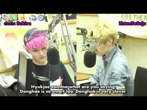 [ENG] 130624 KTR - Goodnight Popz Skit - Ryeowook as Eunhyuk mom, Henry as Donghae mom