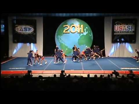 Espol Cheer (Ecuador) International Open Coed 5 Finals2011  Worlds