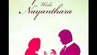 Raja Rani Teaser Poster | Arya weds Nayantara Wedding invite