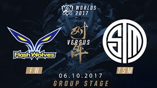 [06.10.2017] FW vs TSM [Group Stage][CKTG2017][Bảng D]