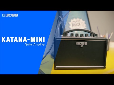Boss Katana Mini Battery Powered Portable Guitar Amplifier