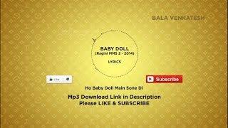 ☆ Baby Doll Ragini MMS 2 Lyrics + Free Mp3 Download