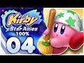Kirby Star Allies 100 Walkthrough Planet Popstar Part 4 CLEANING KIRBY