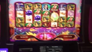 Wizard of Oz Ruby Slippers 2 Slot Machine Bonus - Wicked Witch/Glinda Feature - Big Win!!!