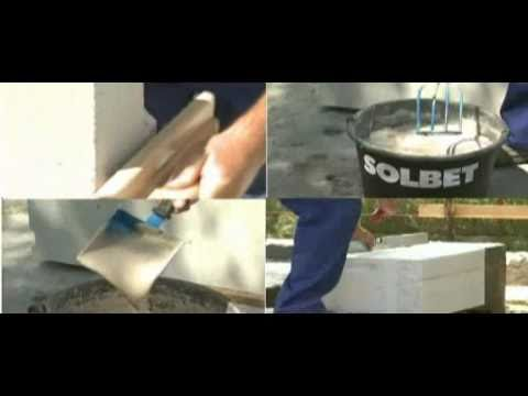 Solbet - budowa ścian