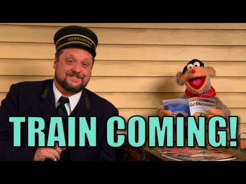 Choo Choo Bob Show - There's A Train Coming!!!