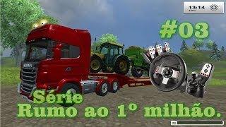 Farming Simulator 2013 Scania + G27 Logitech
