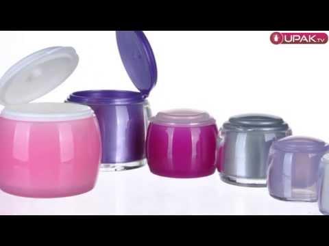 Creative flip-top  jars