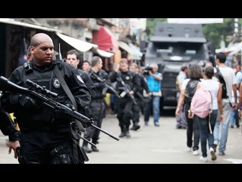 Brazil Militarizes Rio in Preparation for Olympics