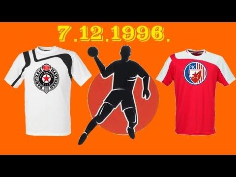 RK Partizan – RK Crvena Zvezda (07.12.1996.)
