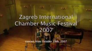 Zagreb Chamber Music Festival: Smetana Piano Trio - 3rd mov. view on youtube.com tube online.