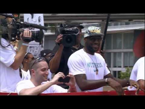 2013 Miami Heat Championship Celebration