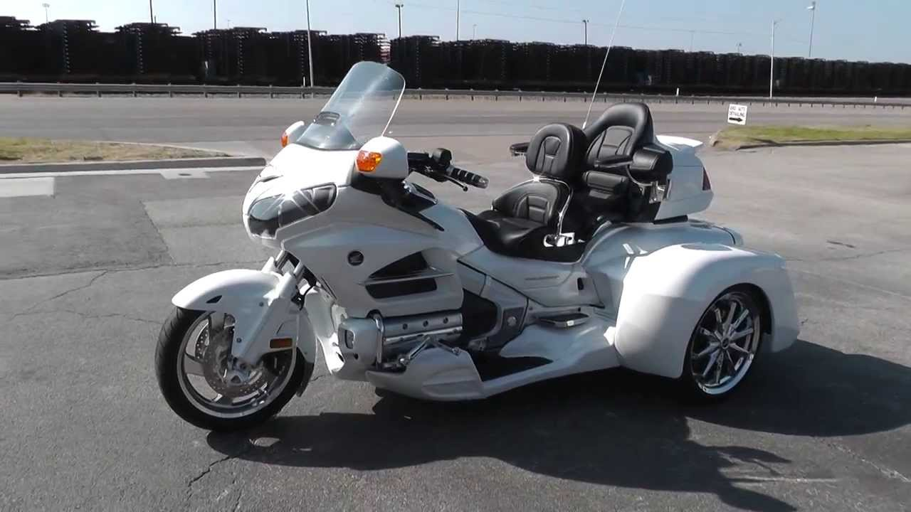 2012 - Honda Goldwing Trike GL1800 - Used Motorcycle For ...