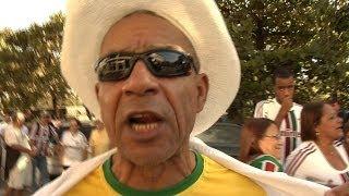 Tifosi in delirio per gli Azzurri a Volta Redonda - Mondiali 2014