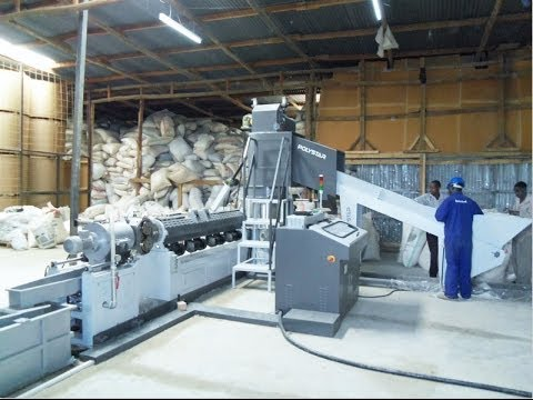 Plastic film recycling machine bangladesh