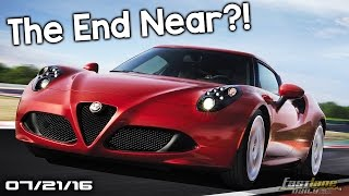 Alfa Romeo 4C Going or Staying?  New Cadillac models, Smart Car SUV - Fast Lane Daily