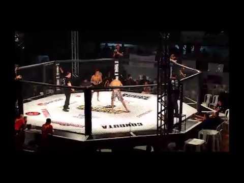 Vídeo da academia CST da luta entre Claudiere vs Baiano no Circuito Talent 4