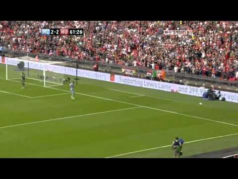 Manchester United vs Manchester City community shield 2nd half