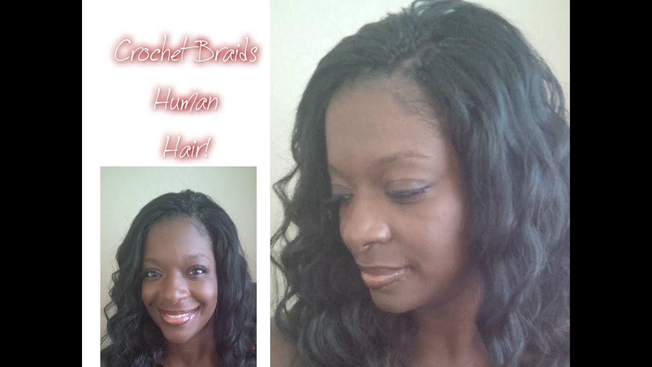 Crochet Hair With Human Hair : Displaying 18> Images For - Crochet Braids Straight Human Hair...