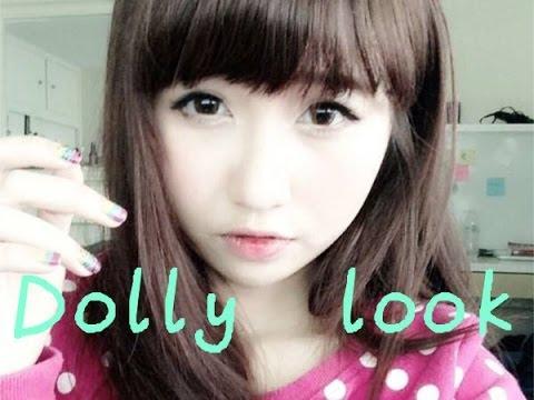 BabyDoll Eyes Makeup - Trang điểm kiểu búp bê tự nhiên